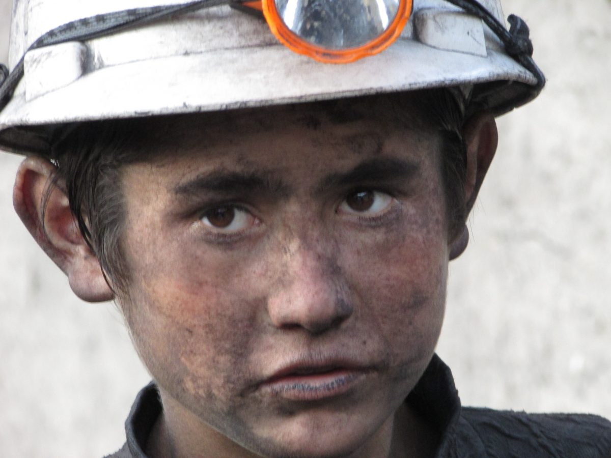 Child Labor in Coal Mine